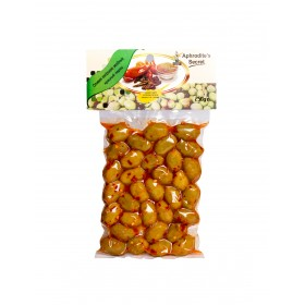 Green Olives with Chilli (250gr)
