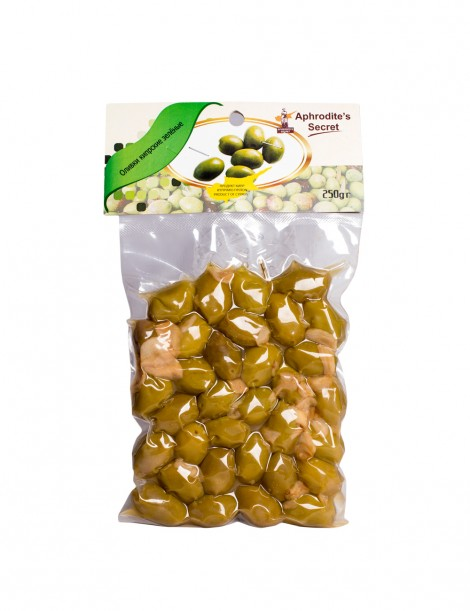 Green Olives with Garlic (2*250gr)