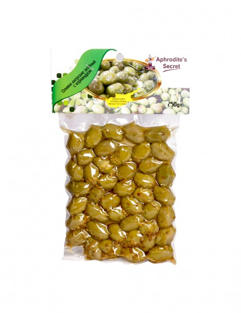 Green Olives with Coriander (2*250gr)