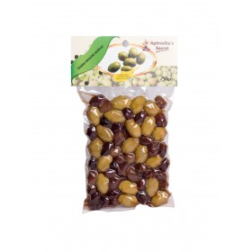 Green and Black Olive Mix (250gr)