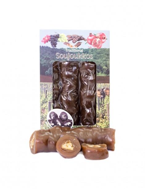 Carob Syrup Soutzjoukko with Walnuts (500gr)