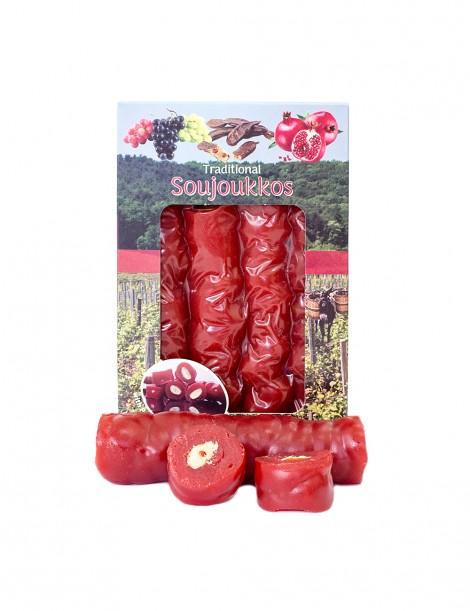 Pomegranate Juice Soutzjoukko with Almonds (500gr)