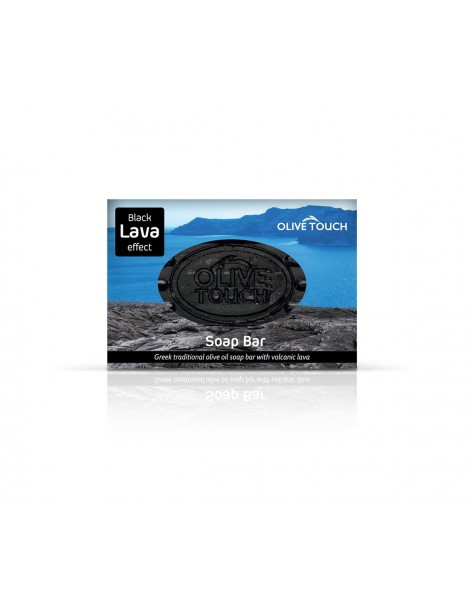 Black Lava Soap Bar (100gr)