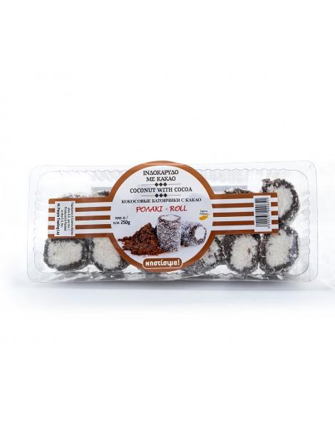 Choco Coconut Rolls (250gr)