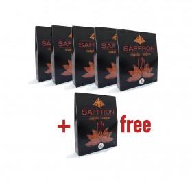 Saffron (Flower) (5x3gr + 1x3gr free)