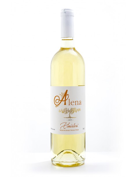 Alena Medium Sweet White Wine (750 ml)