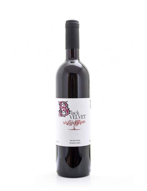 Black Velvet Dry Red Wine, 75cl