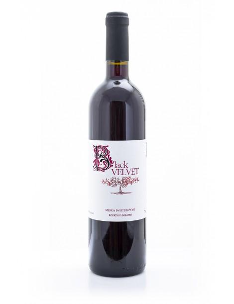 Black Velvet Medium Sweet Red Wine, 75cl