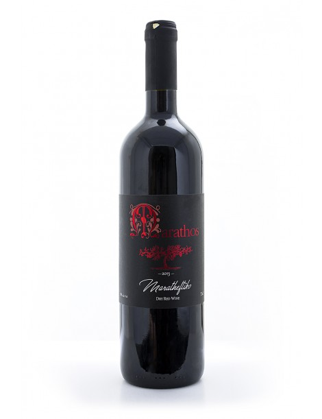Marathos Red Dry Wine - 2013, 75cl