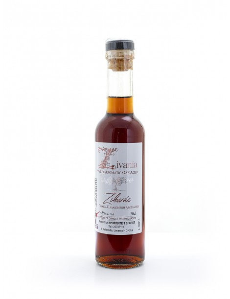 Zivania Traditional Spirit, Oak Aged, 20cl